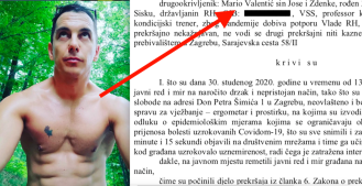 Mario Valentić osuđen zbog incidenta u crkvi Svete mati slobode