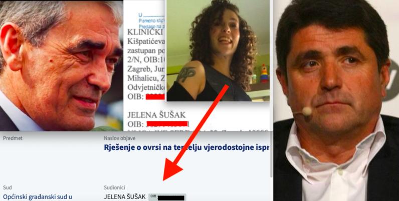 Kćeri Gojka Šuška, Jeleni Šušak, prijeti ovrha nad imovinom zbog dugova operateru srpskog tajkuna