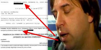 Nakon ovrhe zbog peglanja kartice Damiru Gojanoviću stigle dvije nove ovrhe