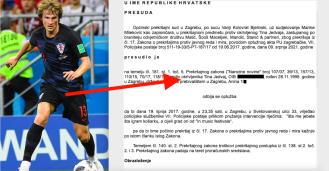 Nogometaš Tin Jedvaj oslobođen na zagrebačkom sudu zbog apsolutne zastare
