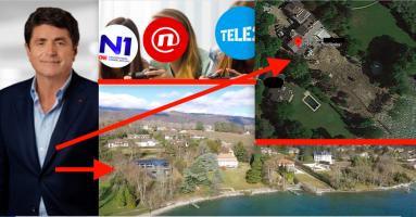 Luksuzna vila gazde Nove TV, N1  i Telemacha na obali Ženevskog jezera