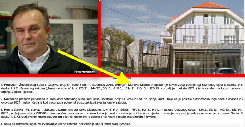 Svjedok protiv Sanadera u aferi Fimi medija iz raskošne vile ide u zatvor Remetinec