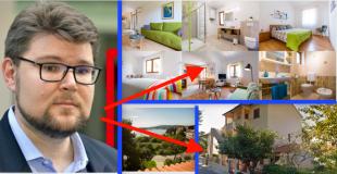 Luksuzna obiteljska vila Peđe Grbina u Puli renta se preko interneta