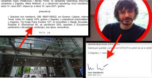 Osuđeni Ivor Ivanišević ovjerio dokument svoje ZG tvrtke, iako je u bijegu i piše mu adresa EU parlamenta