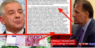 U Sanaderovo i Hypo doba crna lova tekla je potocima, Romeo Krešić korumpirao je Dragu Vidakoviću sa 120.000 € i nikom ništa
