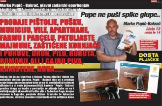 """Najžešći zadarski kritičar HDZ-a koji viče """"Dosta pljačke"""" prodaje preko interneta milijunski vrijedne vile, apartmane, majmune i oružje"""